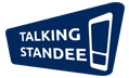 Talking Standee Logo
